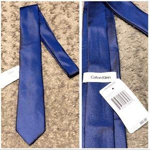 New! Mens Calvin Klein tie paid $65 Blue Brand new